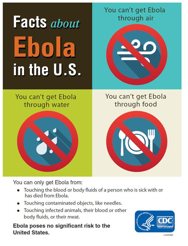 NJDOH & CDC Websites for Ebola Info (Click Here)
